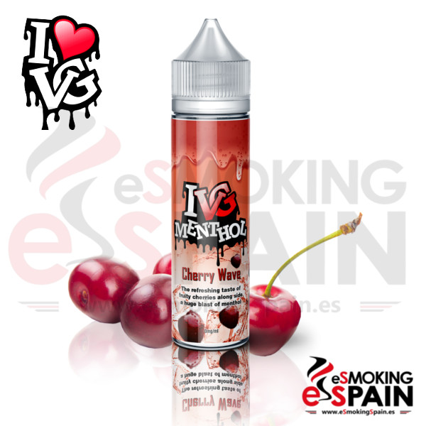 I VG Menthol Cherry Wave 50ml 0mg