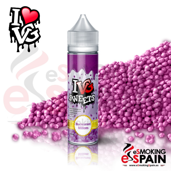 I VG Sweets Blackcurrant Millions 50ml 0mg