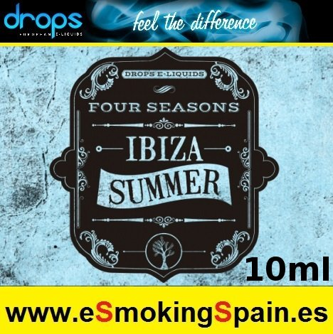 Eliquid Drops Four Seasons Ibiza Summer 10 ml