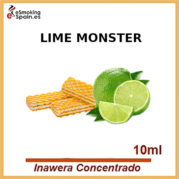 Inawera Concentrado Lime Monster 10ml (nº75)