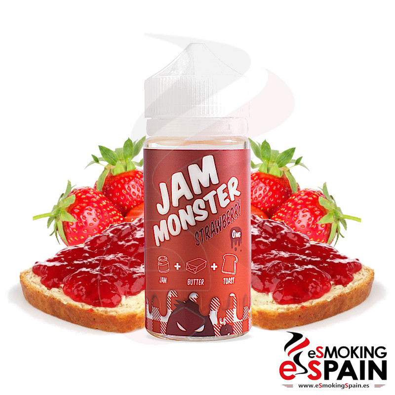 Jam Monster Fresa 100ml