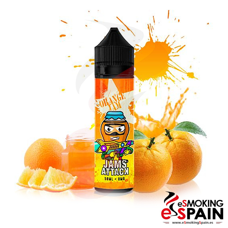 Jams Attack Orange Jam 50ml 0mg