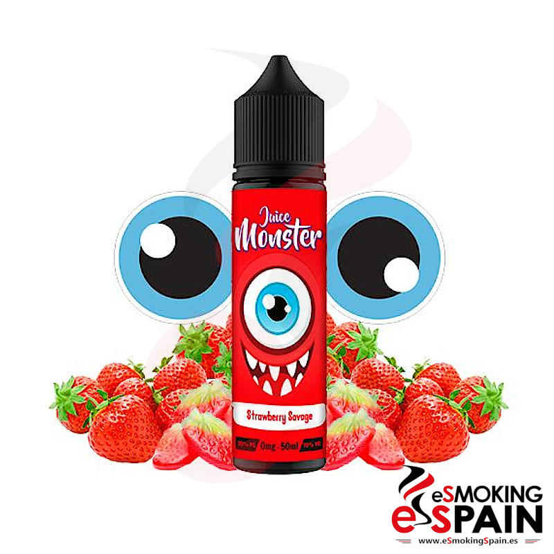 Juice Monster Strawberry Savage 50ml 0mgJuice Monster Strawberry