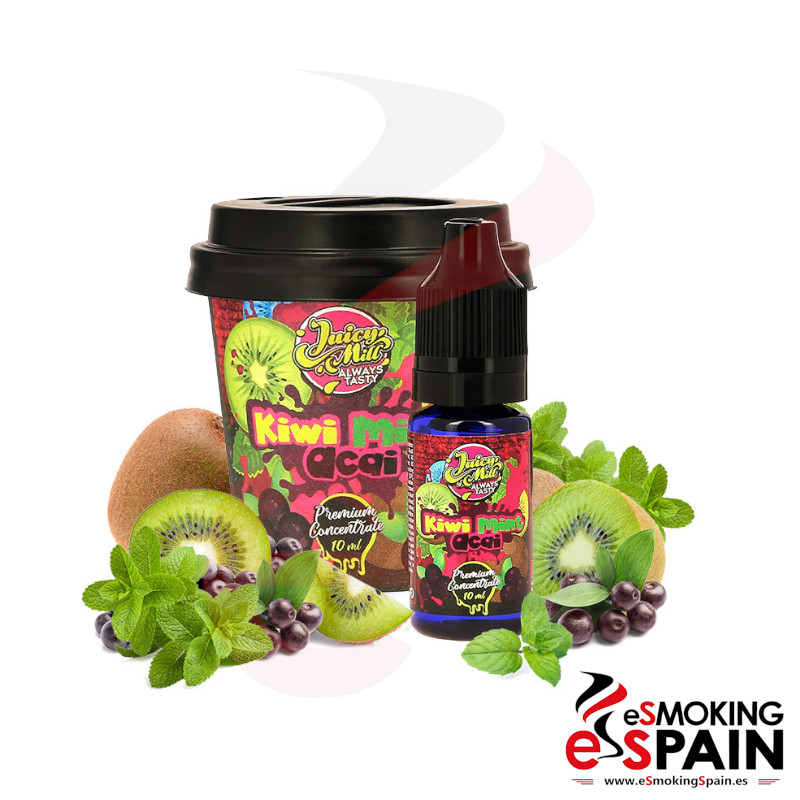 Aroma Juicy Mill Kiwi Mint Acai 10ml