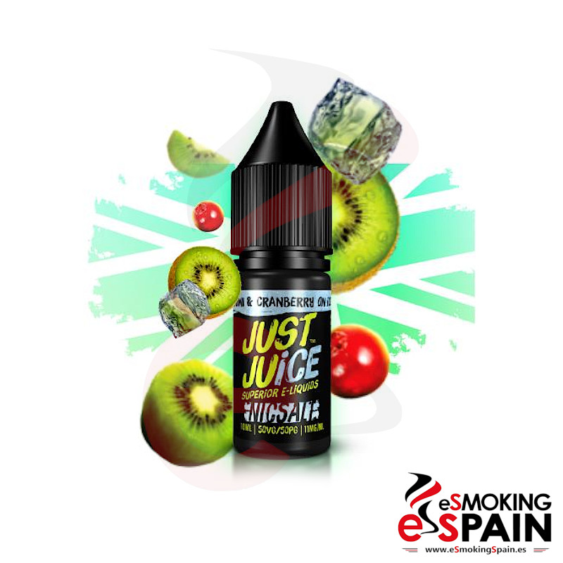 Just Juice Nic Salt Kiwi Cranberry On Ice 10ml 20mg/ml