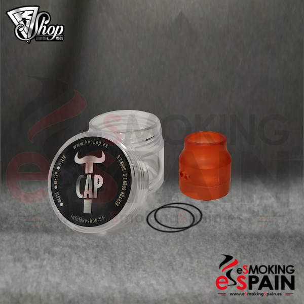 KVShop TCAP Delrin Red 24mm