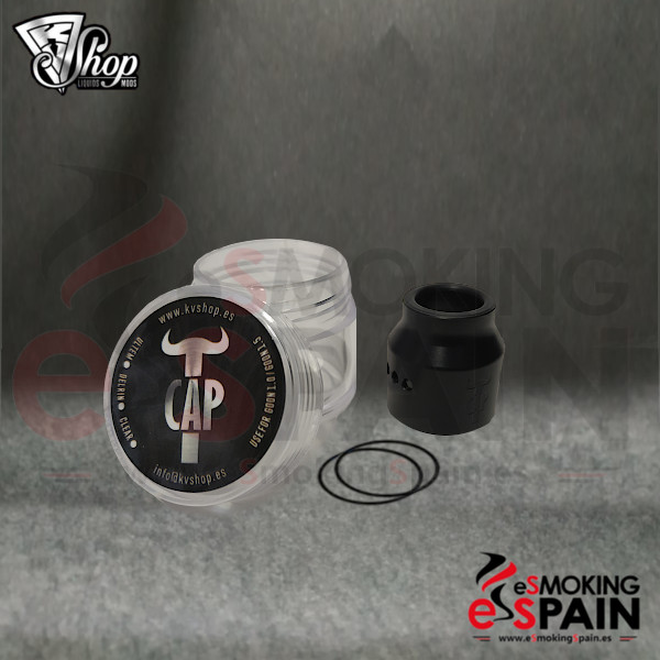 KVShop TCAP Delrin Black 24mm