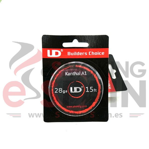 Youde Kanthal A1 UD 28gax3 / 15ft