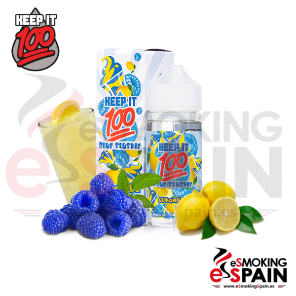 Liquido Keep It 100 Blue Slushine Lemonade 100ml 0mg