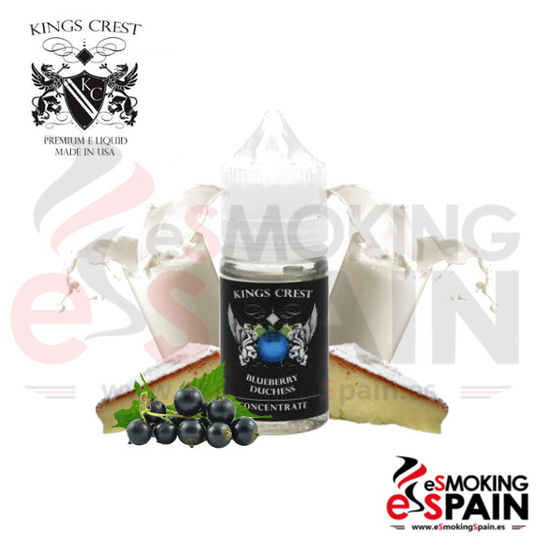 Aroma Kings Crest Blueberry Duchess 30ml