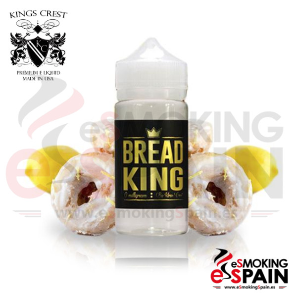 Kings Crest Bread King 100ml 0mg