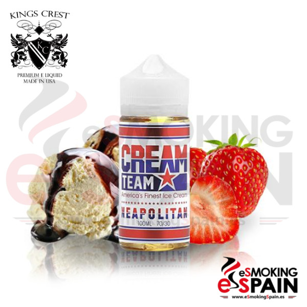 Kings Crest Neapolitan 100ml 0mg
