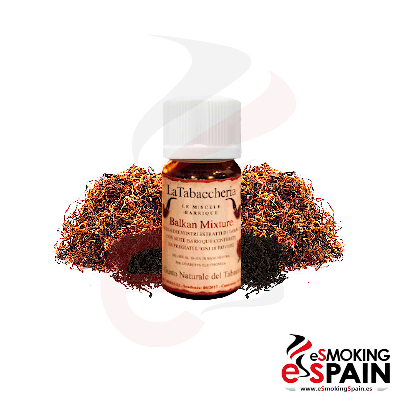 La Tabaccheria Miscela Barrique Balkan Mixture 10ml (nº24)