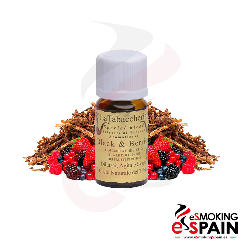 La Tabaccheria Special Blend Black And Berries 10ml