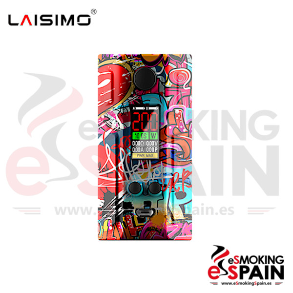 Laisimo Box Spring 200W Graffiti Series Hip Hop