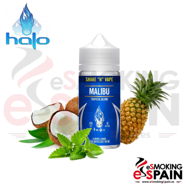 Liquid Halo Malibu 50ml 0mg