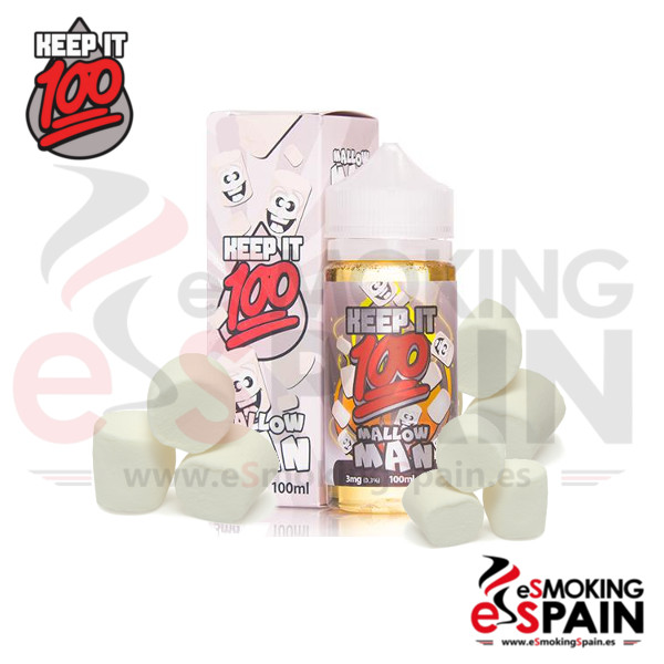 Liquido Keep It 100 Mallow Man 100ml 0mg