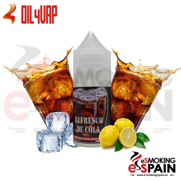 Liquido Oil4Vap Refresco De Cola 20ml 0mg