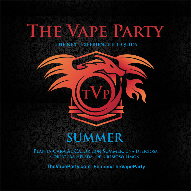 Liquido The Vape Party - Summer