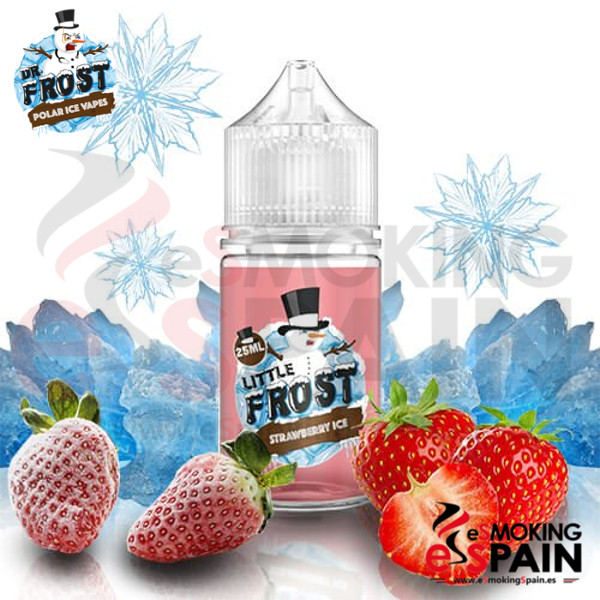 Liquido Little Frost Strawberry Ice 25ml 0mg