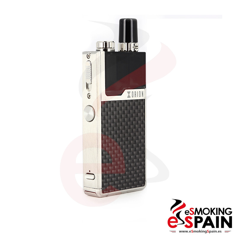 Lost Vape Orion 40W DNA Go Kit Silver Carbon Fiber