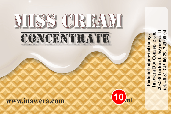 Inawera Concentrado Miss Cream 10ml (nº50)