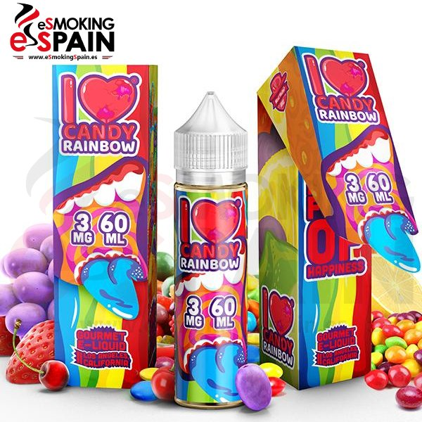 Mad Hatter I LOVE CANDY RAINBOW E-JUICE 50ml
