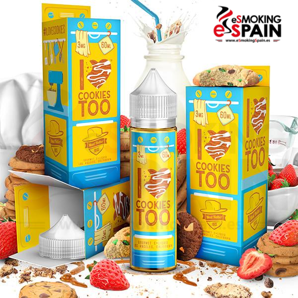 Mad Hatter I LOVE COOKIES TOO E-JUICE 50ml