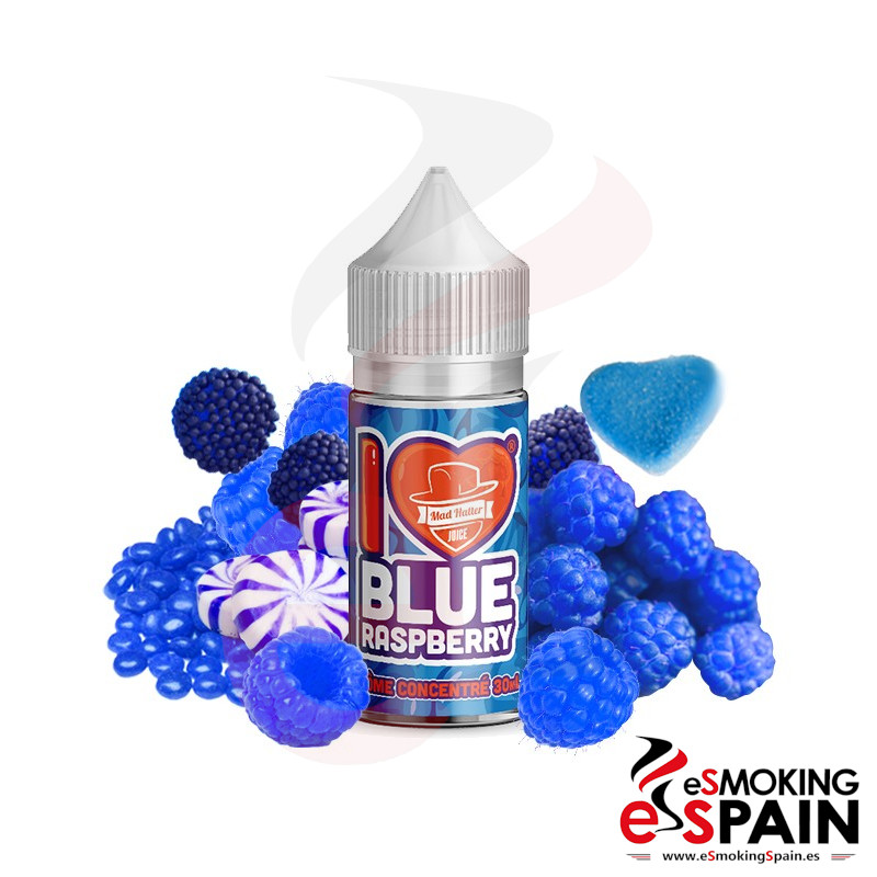 Mad Hatter I Love Blue Raspberry 30ml