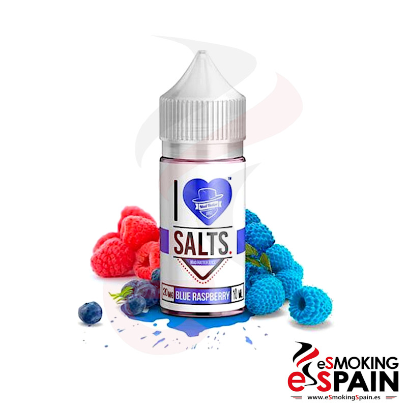 I Love Salts Mad Hatter Blue Raspberry 10ml 20mg