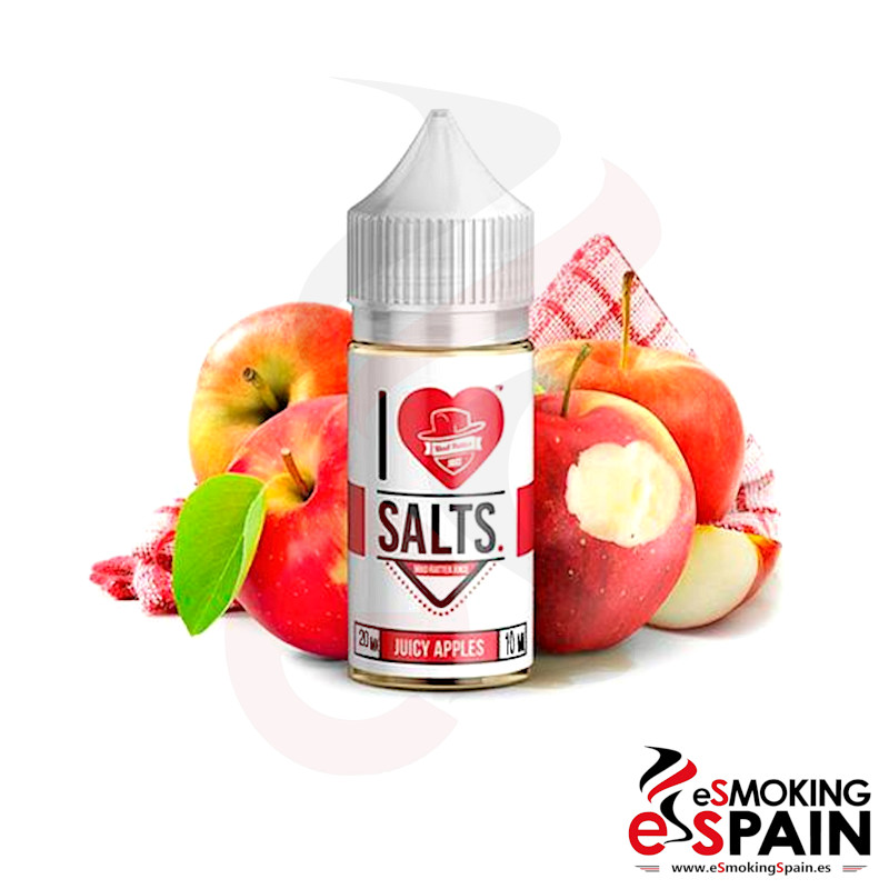 I Love Salts Mad Hatter Juicy Apples 10ml 20mg