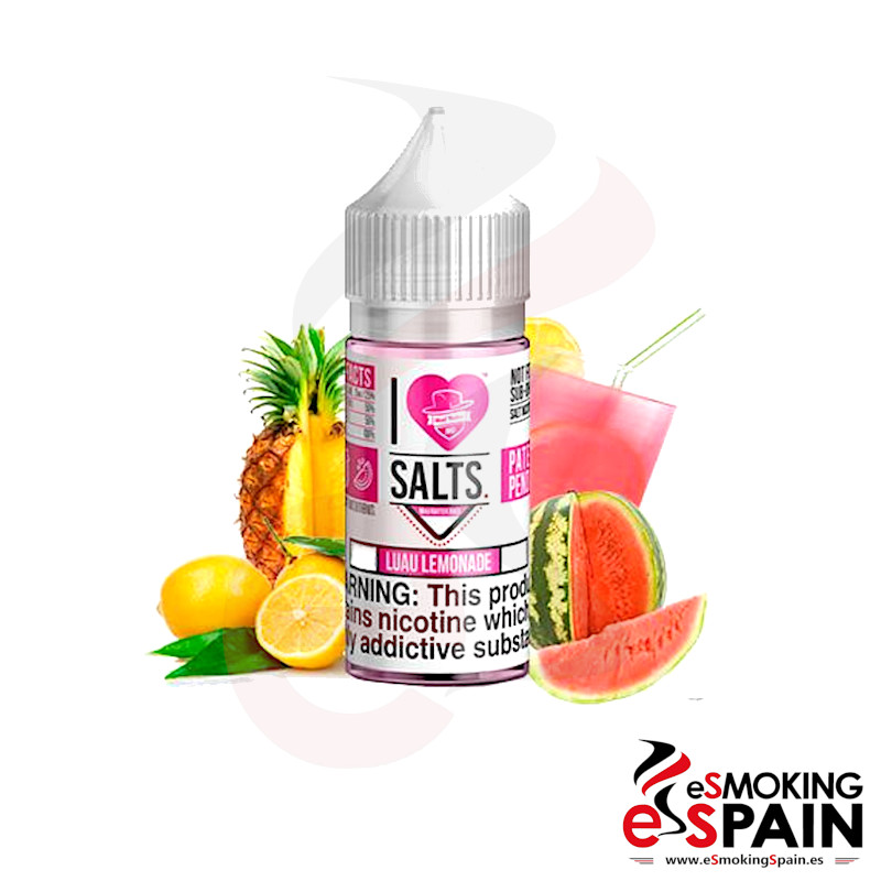 I Love Salts Mad Hatter Luau Lemonade 10ml 20mg
