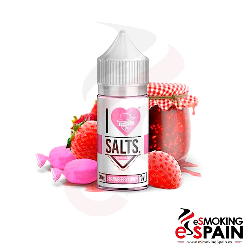 I Love Salts Mad Hatter Strawberry Candy 10ml 20mg