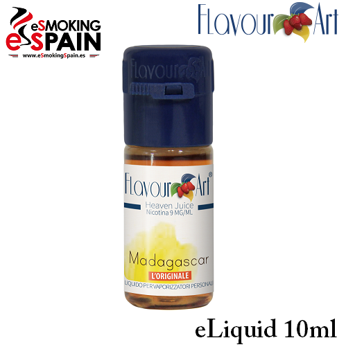 Eliquid FlavourArt MADAGASCAR 10ml (nºL29)