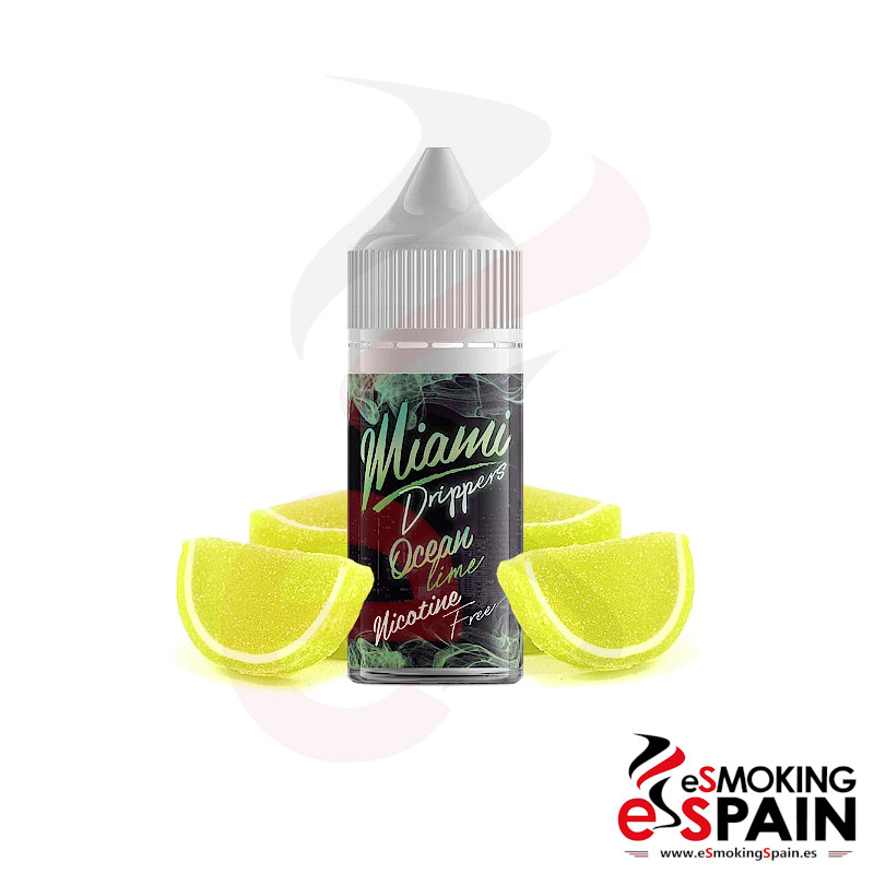 Miami Drippers Ocean Lime 25ml 0mg