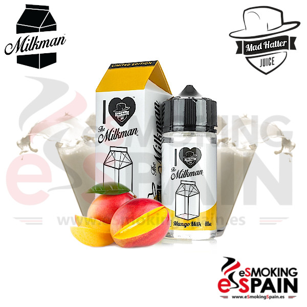 I Love The Milkman Mango Milk 80ml 0mg