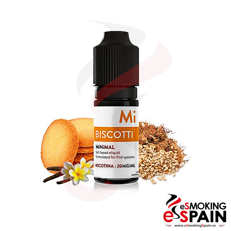 Minimal Biscotti Salts 10ml 20mg