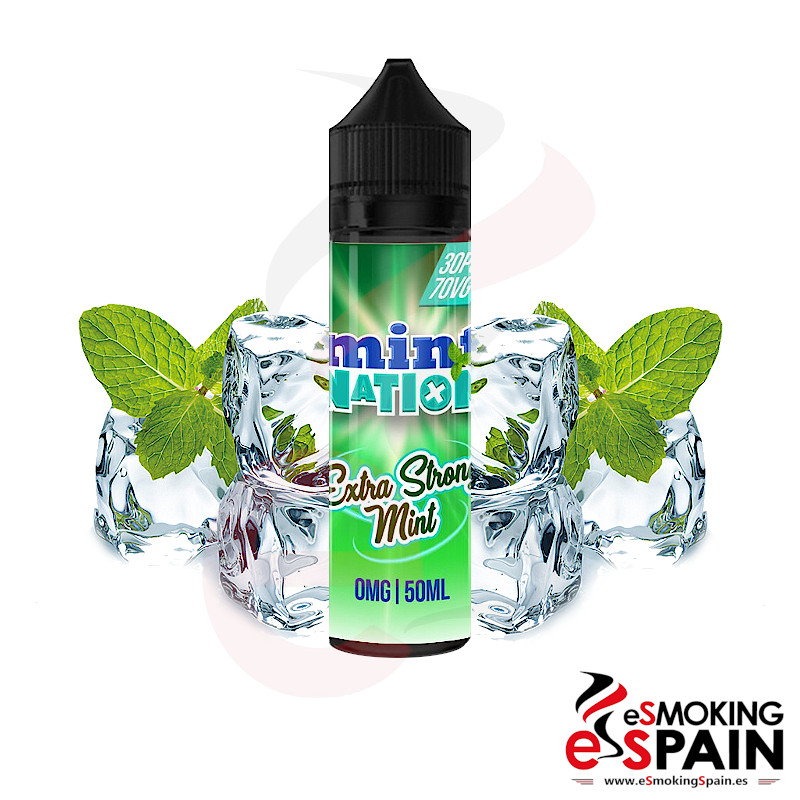 Mint Nation Extra Strong Mint 50ml 0mg