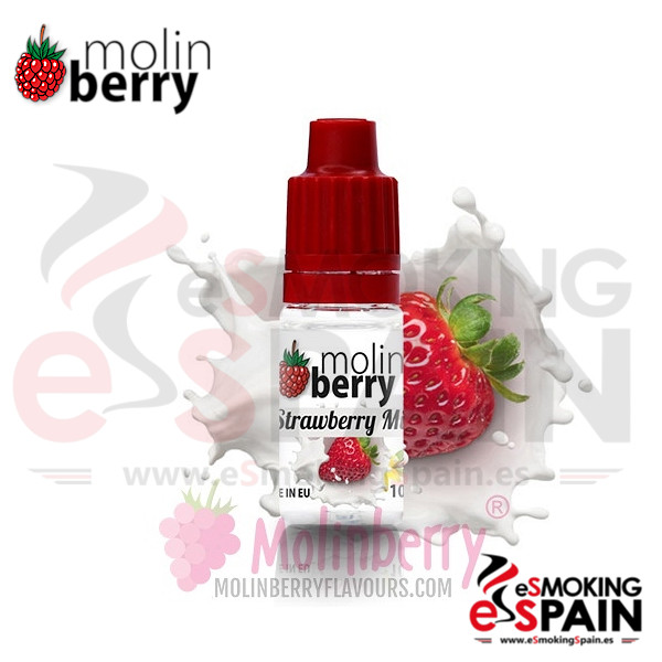 Aroma Molin Berry Strawberry Milk 10ml (nº40)