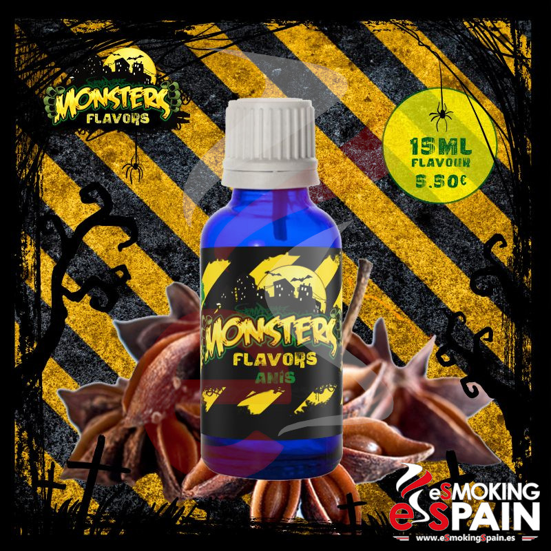 Aroma Monsters Flavors Anis 15ml (nº5)