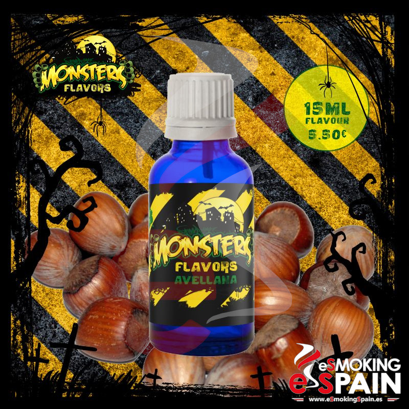 Aroma Monsters Flavors Avellana 15ml (nº7)