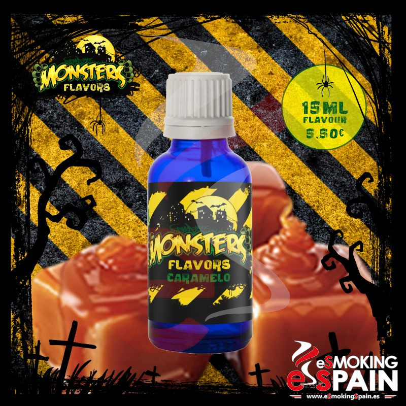Aroma Monsters Flavors Caramelo 15ml (nº9)