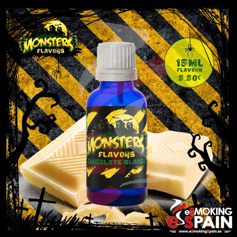 Aroma Monsters Flavors Chocolate Blanco 15ml (nº12)