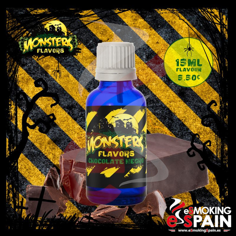 Aroma Monsters Flavors Chocolate Negro 15ml (nº13)