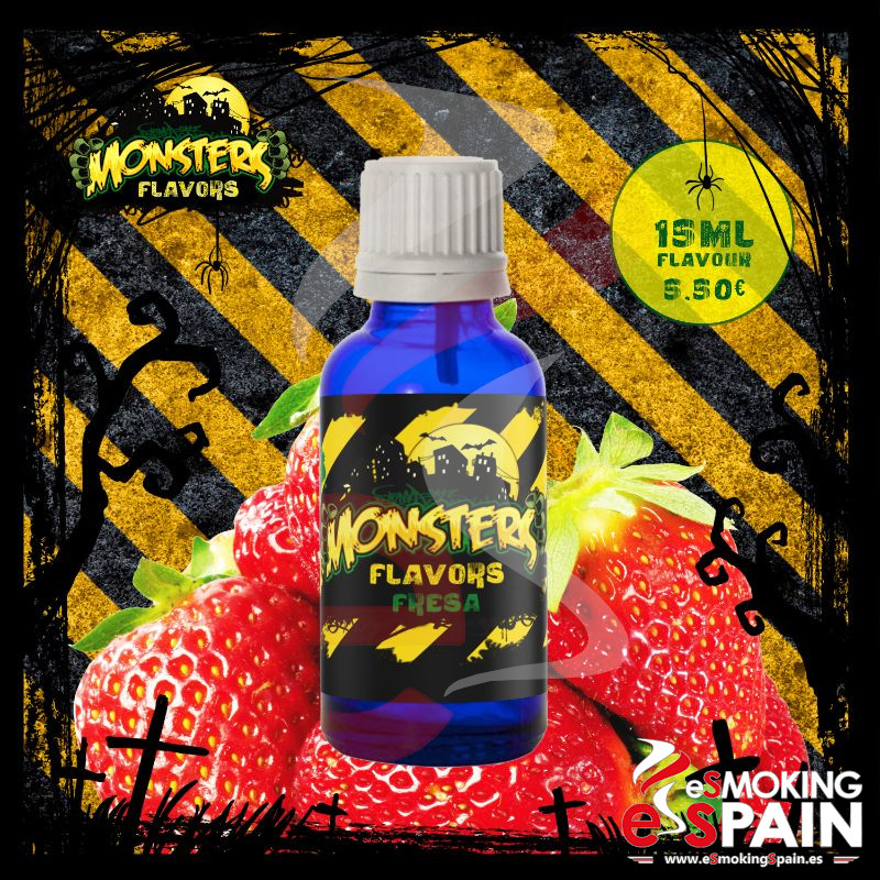 Aroma Monsters Flavors Fresa 15ml (nº19)