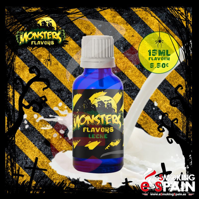 Aroma Monsters Flavors Leche 15ml (nº24)