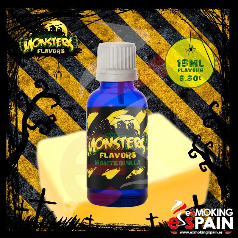 Aroma Monsters Flavors Mantequilla 15ml (nº27)