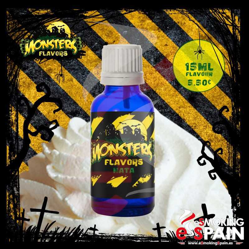 Aroma Monsters Flavors Nata 15ml (nº33)