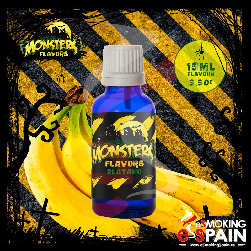 Aroma Monsters Flavors Platano 15ml (nº39)