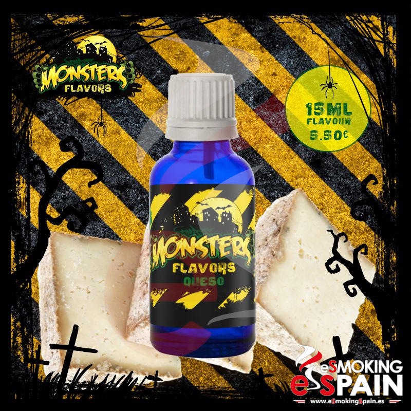 Aroma Monsters Flavors Queso 15ml (nº40)